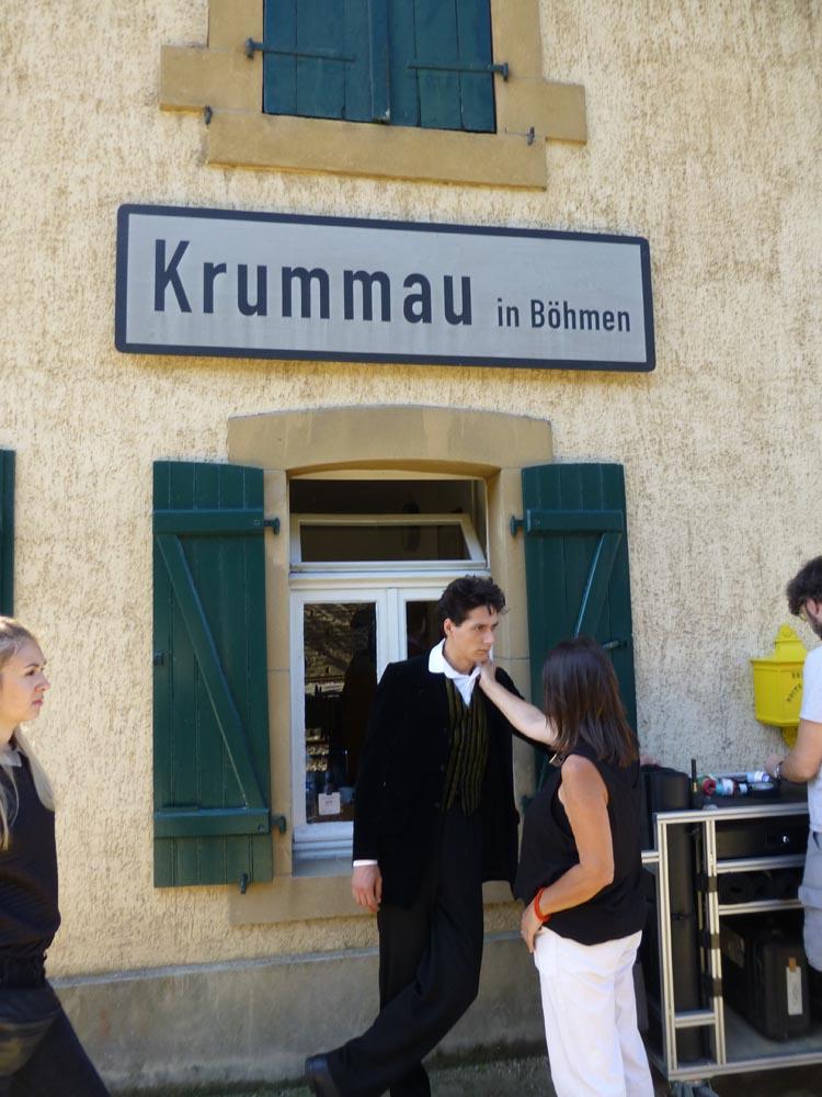 Tournage de film «Egon Schiele»