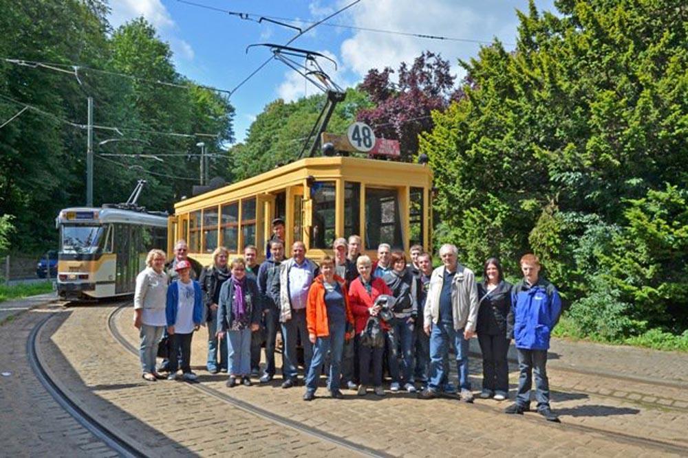 Visite au Tramways Bruxelles